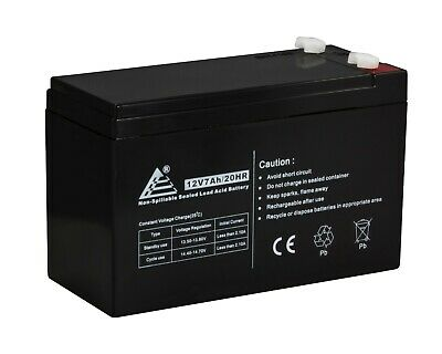12V-7AH/20HR Battery ExpB Replacement for 7Ah or 8Ah Leoch Peg Perego DJW12-8HD