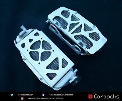 Ktm Husqvarna 2017 2018 125 150 250 300 350 450 500 Alloy Radiator Guards