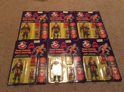 Lot Of 6 Ray Stantz Ghostbusters Fright Features Figures Canadian Carded