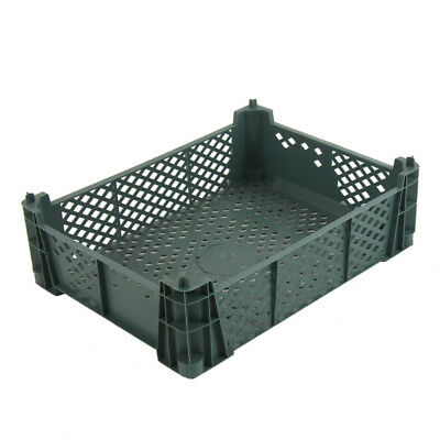 Plastic Produce Crate 6kg Vegetable Box Produce Crate Stackable Storage Box