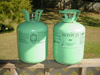 R22 Refrigerant 16 + Liquid Pounds in 2-30lb Containers