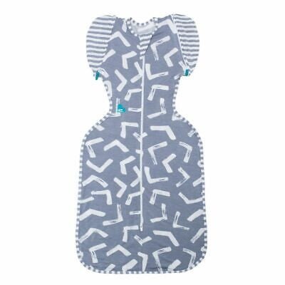 LOVE TO DREAM SWADDLE UP 50/50 BAMBOO  1TOG - Memphis Grey FREE SHIPPING