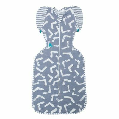 Love to Dream Swaddle Up 50/50 BAMBOO 1TOG  MEMPHIS GREY - 3 SIZES FREE SHIPPING
