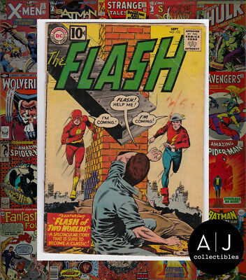 The Flash #123 (W DC W) GD/VG! HIGH RES SCANS!