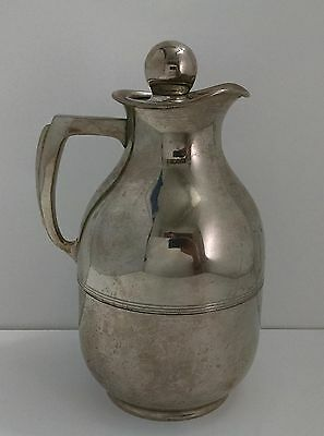 Vintage 1911 American Thermos Bottle Co. Carafe Coffee Pitcher Norwich Conn.
