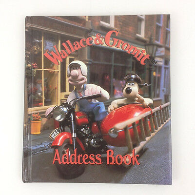 Vintage 90s Wallace & Gromit Illustrated Aardman Animations Art Address Book