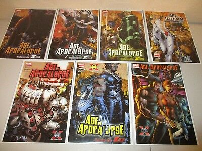X-Men Age of Apocalypse  #1-6 + One-Shot  VF/NM  (Complete Marvel 2005 Series)