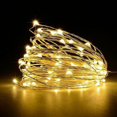10ft 3M Warm White Mini 30LED String Fairy Lights Battery Powered Christmas Part
