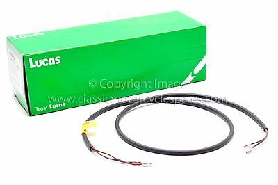 "Wiring Harness, Mudguard 2 core Stop/Tail, 42"", Genuine Lucas"