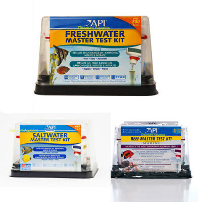 Api Master Test Kits Fresh Water Marine Reef Saltwater Water Fish Tank