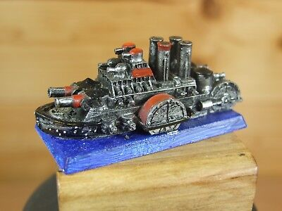 Classic Metal Warhammer Man O War Dwarf Dreadnought Painted (1646)