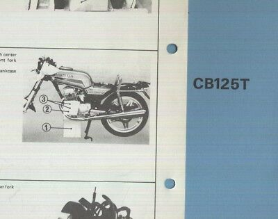 Honda cb 125 200 twin 1964 on haynes manual 900 picclick uk genuine honda cb125t b twin 1981 on dealership pdi set up fandeluxe Image collections