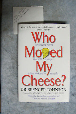 Who Moved My Cheese? - Dr Spencer Johnson OzSellerFasterPost!