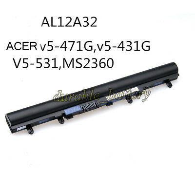 New OEM Battery AL12A32 For ACER Aspire V5 V5-431 V5-471 V5-531 V5-551 V5-571