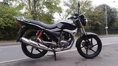 2014 Kymco Pulsar 125cc learner legal commuter motorcycle very low mileage