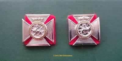 The Duke Of Edinburgh's Royal Regiment (Berkshire And Wiltshire) Collar Badges