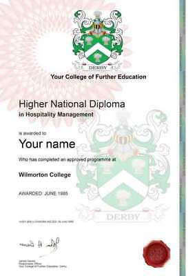 Fake Novelty Diploma Certificates Unique Personalised Anniversary Birthday Gift