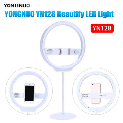 YONGNUO YN128 Camera Photo/Cell Phone/Video LED Ring Dimmable Light Flash Set