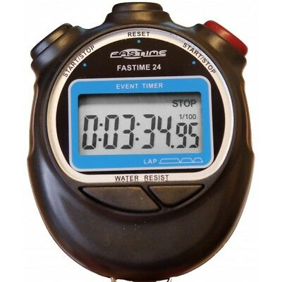 Fastime Fastime 24 Stopwatch- Stopwatches- Black ****CLEARANCE***