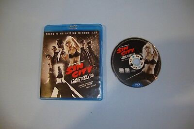 Frank Millers Sin City: A Dame to Kill For (Blu-ray Disc, 2015)