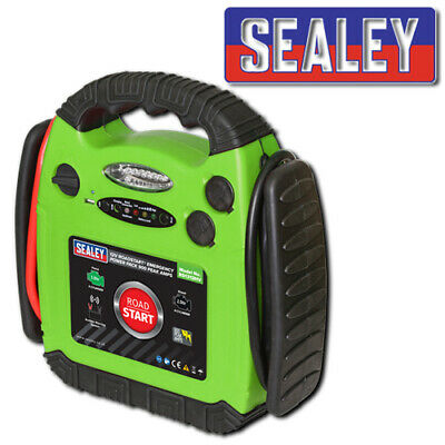 Sealey Rs1312Hv 12V 900A Portable Emergency Car Battery Jump Starter Power Pack