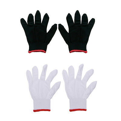 12 Pairs Nylon Safety Coating Work Gloves Builders Grip Protect S M L Cool FH