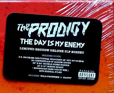 THE PRODIGY Day is my Enemy - 3LP / Vinyl - BOX SET - Limited Deluxe Edition