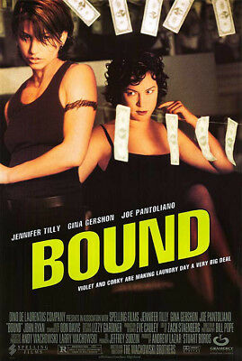 Bound (1996) original movie poster single-sided rolled