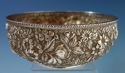 Repousse by Jenkins & Jenkins Sterling Silver Fruit Bowl #188 (#1992)