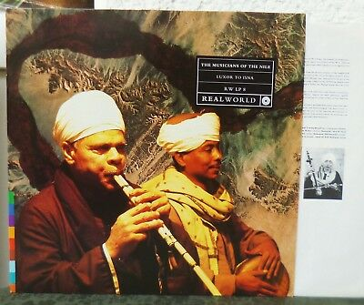 THE MUSICIANS OF THE NILE - Luxor To Isna  Egypt   Real World LP