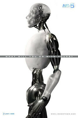 I, Robot (2004) original movie poster advance version A single-sided rolled