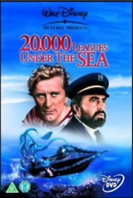 20000 Leagues Under the Sea [DVD] [1954] NEW