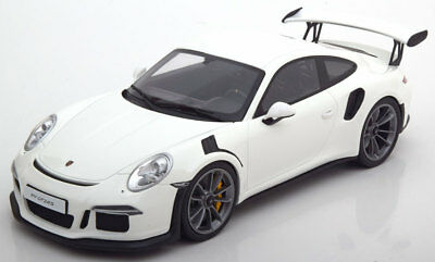 GT Spirit Porsche 911 (991) GT3 RS White  LE of 504 1/18 Scale. New! In Stock!