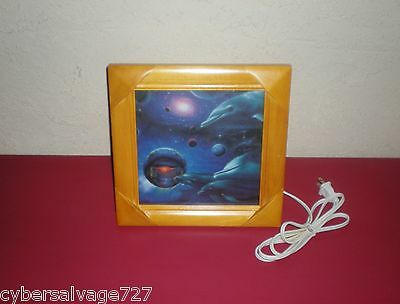 Night Lamp 110 Volt Dolphin Motion Light With Sound Box Nautical Decor