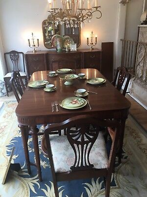Marvelous Vintage Dining Room Set