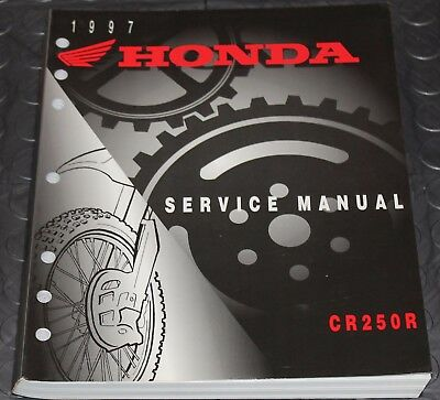 NOS OEM Honda Service Shop Manual NEW 97 CR250R CR 250 R
