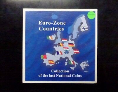 {BJSTAMPS}  Euro-Zone Countries Collection of the Last Coins before EUROs