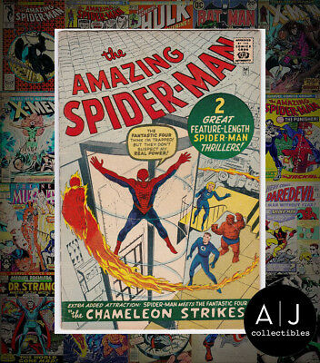 The Amazing Spider-Man #1 (Marvel) VG - FN! HIGH RES SCANS GOLDEN RECORD REPRINT