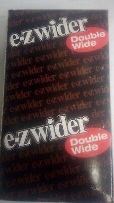 EZ Wider Double Wide Cigarette Rolling Paper Full Box 24 Booklets