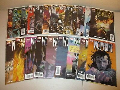 Wolverine #1-22 (2003 Marvel Series) Rucka Lot 1 2 3 4 5 6 7 8 9 10... VF/NM