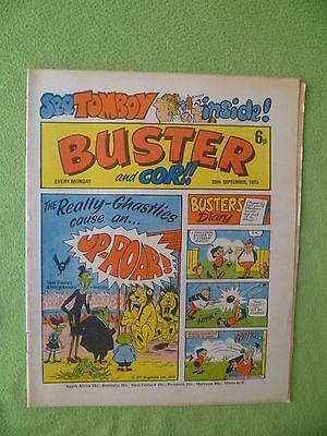 Buster and Cor!! UK Comic, September 20th, 1975