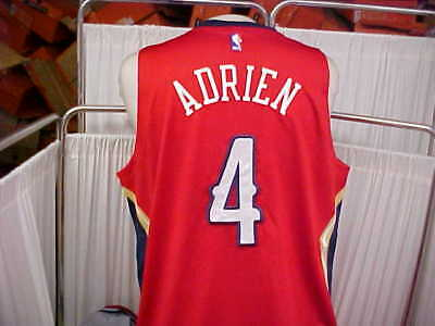 1bd5cf165636 NBA 2015-2016 New Orleans Pelicans  4 Jeff Adrien Game Worn Jersey Size 2XL