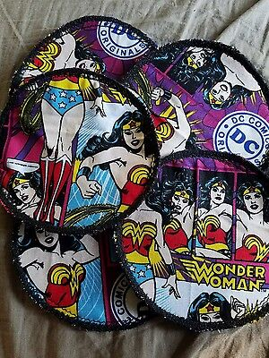 wonder woman coasters
