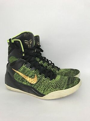 newest a786f 97fe3 Men s Nike KB Ninth Shoes HighTops size 11 Green Black Gold Kobe Bryant