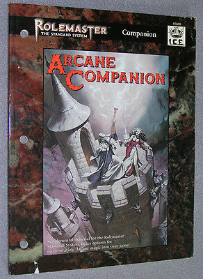 Rolemaster Arcane Companion, ICE 5600, used/mit deutlichen Spuren, English/Engl.