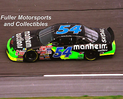 Rare Robert Pressley #54 Manheim Chevy Lumina 1994 Nascar Winston Cup 8X10 Photo