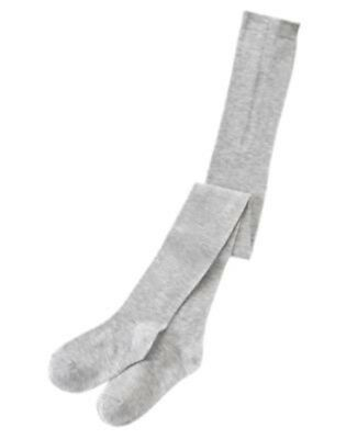NWT  5-6 Years CRAZY 8 Back to School Style Gray Heather Fashion Tights