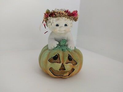 Halloween Dreamsicles Figurine Pumpkin Party cast art jack Olantern 2000 Kristin