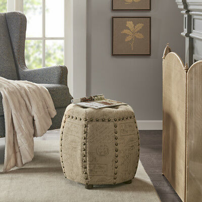 Awesome Madison Park Brianna Ottoman 110 49 Picclick Machost Co Dining Chair Design Ideas Machostcouk
