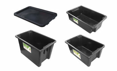100% Recycled Enviro Stacking Nesting Crates Storage Container Material Handling